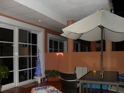 Photo for Lovely 2 bedroom poolside apartment, 2 large terraces, FREE WI FI, FREE VIEW T V