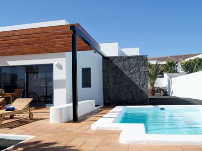 Photo for This 2-bedroom villa for up to 4 guests is located in Playa Blanca and has a private swimming pool,