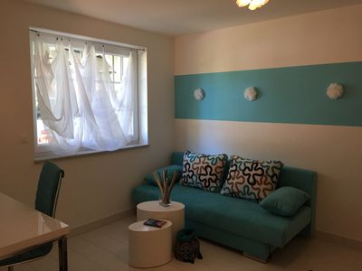 Office/2nd bedroom with pull out sofa (1,40m)