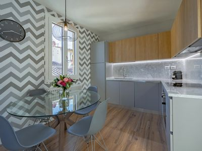 Photo for Brand New and completely renovated 2 bedroom 2 bathroom super stylish apartment located in the heart