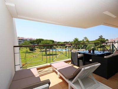 Photo for Lovely newly refurbished 2 bedroom 2 bathroom apartment with A/C in the Algarve