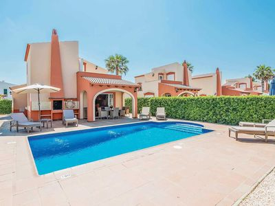 Photo for Centrally located family villa just 500m from beach w/ all mod cons