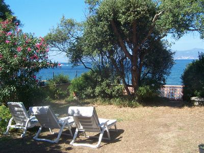 Photo for Detached house - Waterfront south of the Gulf of Ajaccio.