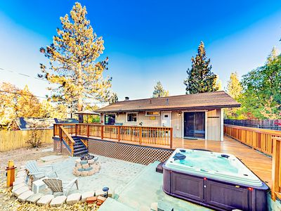Family-Friendly Home w/ Private Hot Tub, Ping-Pong, Basketball & Fire Pit