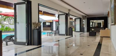 Photo for 4 BR, Nusa Dua Bali Private Villa, Kids Friendly, BBQ, Gym, Big Pool & Billiard