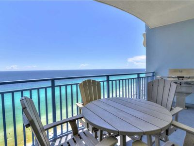 Photo for PERFECT 19th Floor 1 Bedroom at Sterling Breeze! Near Pier Park!
