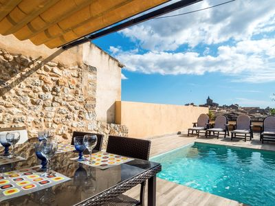 Photo for VILLAGE HOUSE SES CASES NOVES WITH POOL IN SINEU