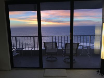 Photo for Top Flr Breathtaking Gulf & Sunset Views on Beach/Lux Bldg, Private Front Corner