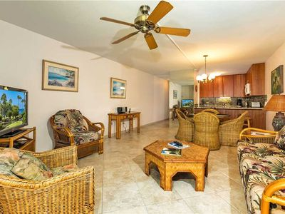 Photo for Spacious, Tropical One Bedroom Garden View Suite With Partial Ocean Views 2-205