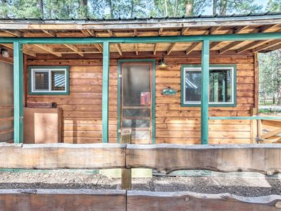 Photo for NEW! Cozy Cabin Near Downtown to Ruidoso Downs!