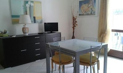 Photo for Brand new apartment and central Alghero for 5 people, Air Conditioning