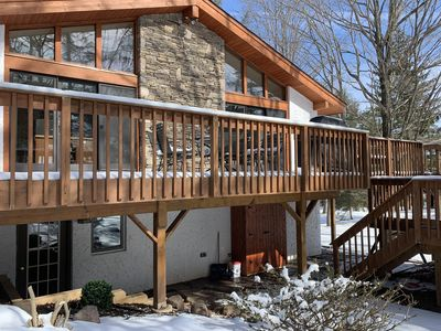 """Photo for """"NEW""""LUXERY SKI-IN SKI-OUT ALPINE CHALET at WINDHAM MOUNTAIN...WEDDINGS WELCOME"""