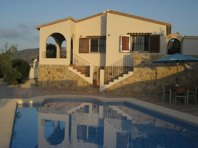 Photo for Tranquil Villa With Private Pool And Spectacular Views