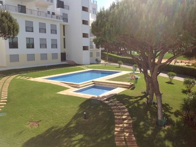 Photo for Luxury 3 Bed Apartment, Sleeps 8, Falesia Beach, Private Pools, Balconies