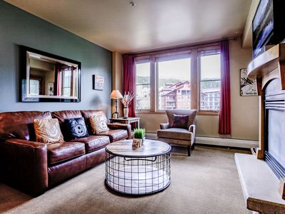 Photo for Fab New Condo @ Zephyr | Ski In\Ski Out | 4 Hot Tubs | Riverside