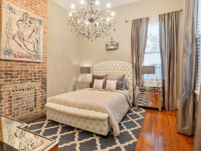Photo for Garden District condo near the trolley line and St. Charles Ave!