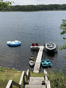 Photo for Cozy 3 bedroom, 1 bath, cottage on water with beautiful lake and great fishing