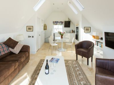 Photo for York House - Beautifully furnished apartment with stunning sea views