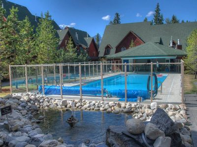 Photo for A Vacation Awaits!!! Outdoor Pool/Hottub in a Wonderful 2 Bedroom Chalet