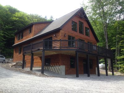 Photo for New Luxury Ski Chalet only 4 miles away from Sunday River, Sleeps 10