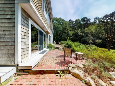 Photo for NEW LISTING! Dog-friendly home w/ Buzzards Bay view, deck & neighborhood beach!