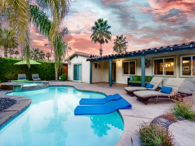 Photo for 2BR/2BA  Pool & Jacuzzi in the front In Palm Springs Warm Sands area