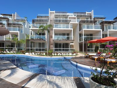 Photo for Luxury 1 bd apartment in Bahia Principe with access to the resort amenities