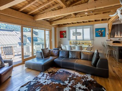 Photo for Penthouse le Bartavel -  an apartment that sleeps 6 guests  in 3 bedrooms
