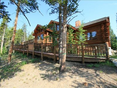 Photo for Large Home, Peak 9, Scenic, Private & Spacious Cabin