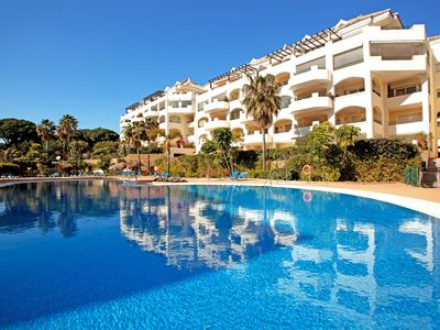 Photo for Luxury beach apartment Elviria, Marbella - Apartment for 4 people in Marbella