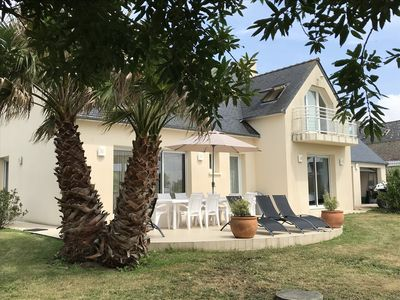 Photo for Beautiful house 200m2, Bay of Audierne, quiet close to the sea