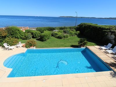 Photo for VILLA WITH SEA VIEW AND SWIMMING POOL TO RENT NEAR THE CENTER TOWN OF SAINTE MAXIME FOR 8 PEOPLE