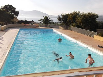 Photo for Rent at PORTICCIO T2 (mezzanine) with Pool (equipped for baby and child)