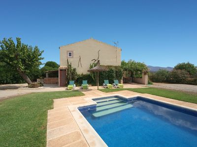 Photo for Spacious finca with pool - Cas Murero