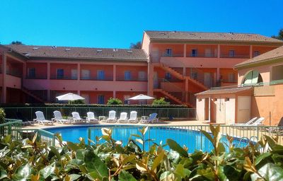 Photo for Corsica 2B, apt 6 people, Gardens of the sea, swimming pool, beach & sea at 150 m