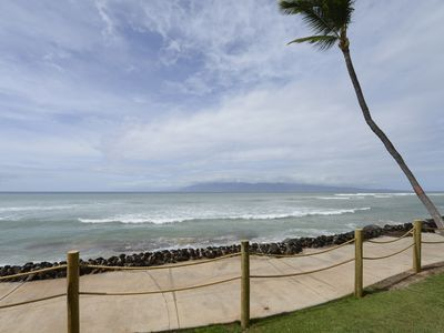 Photo for ENCHANTED BEACHCOMBER OCEAN FRONT CONDO  WITH AC! SPRING SPECIALS!!