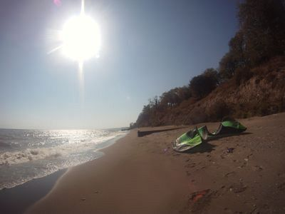 Photo for Summerfell Cottage - Your private sand beach directly on Lake Erie