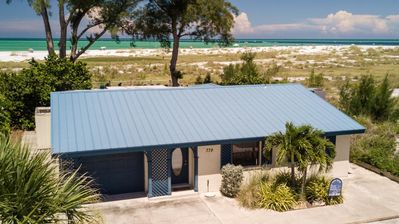 Photo for Spacious 3B/2B Gulf Front Home on the tranquil north end of Anna Maria Island