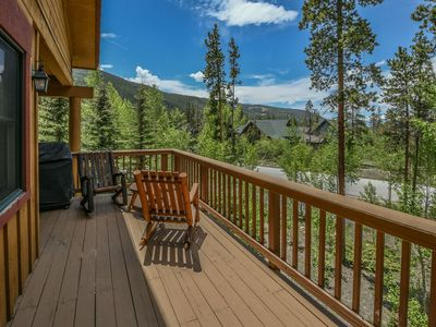 Photo for Great deck w/ Private Grill & Views! 5 min Shuttle ride to the Village