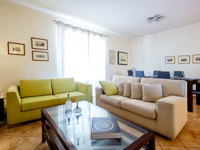 Photo for Sunny, Large & Comfortable Apt, with Palamidi view . Feel Like a Local!