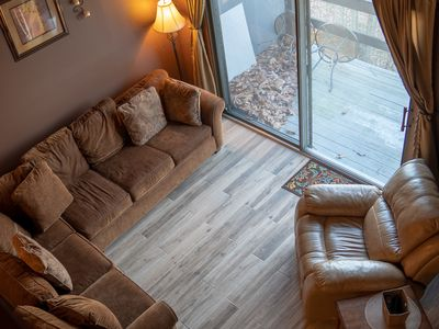 Photo for Camelback Luxury Town Home Chalet fits 2 Families Walk to the slopes
