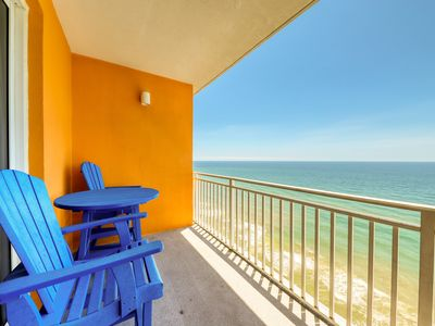 Photo for Elegant Gulf-front condo w/ 20th floor views & shared pools/hot tub/lazy river!