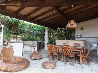 Photo for 240sqm villa with Veranda Barbeque ice maker and a day on a sailing boat for free