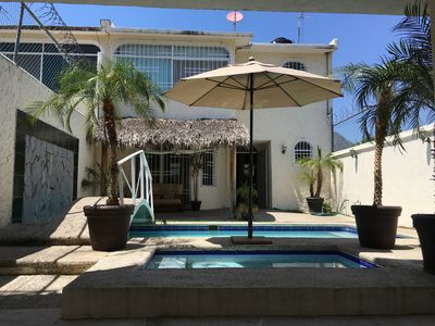 Photo for Fully Equipped 2 Bedroom House With Private Pool In Acapulco Diamante