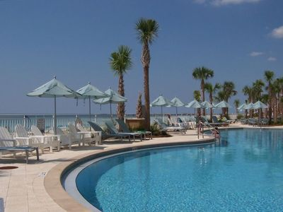 Photo for Aqua 1702  Complimentary Beach Service  Awesome 3BR/3BA--2 king BRs w Gulf views