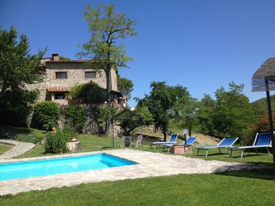 Photo for Spacious 2story 3BR Farmhouse - Tuscan Farm Estate Between Siena&Florence