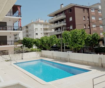 Photo for PENTHOUSE WITH SWIMMING POOL 100M FROM THE BEACH