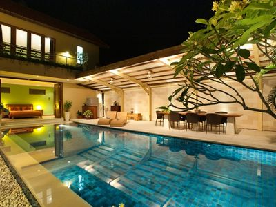 Photo for New Seminyak Villa, OMK 4BR Villa 5 Min Walk Beach.