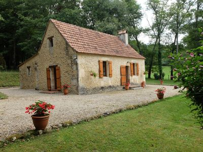 Photo for Lovely old house for two people in the heart of the forest