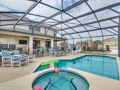 Photo for Gorgeous 7 Bedroom 6 Baths Pool home with game room